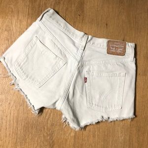 Levi's Distressed Vintage Jean Shorts size 26 in